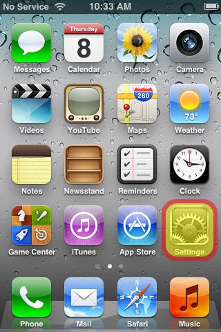 iOS setup image 1